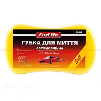 Губка для мойки  0.5 кг (220x120x60 мм) Carlife СL-412 Soft