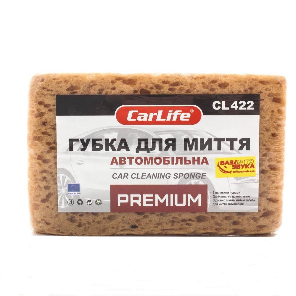 Губка для мойки  0.5 кг  (190x120x70мм) Carlife СL-422 Premium