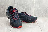 Мужские кроссовки искусственная кожа весна/осень синие Ditof A 95 -26