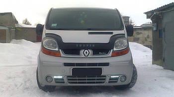 Дефлектор капота (мухобойка) Renault Trafic 2001-