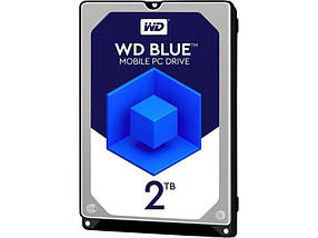 Накопитель HDD 2.0TB WD Blue 5400rpm 128MB (WD20SPZX)