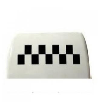 Стекло фишка такси белая