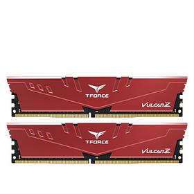 Модуль памяти DDR4 2x8GB/3000 Team T-Force Vulcan Z Red (TLZRD416G3000HC16CDC01)