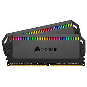 Модуль памяти DDR4 2x8GB/3200 Corsair Dominator Platinum RGB Black (CMT16GX4M2Z3200C16)