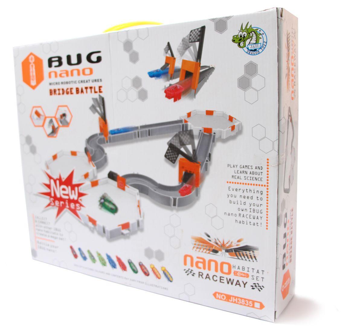 Мини-робот Жучок Hexbug Nano Raceway