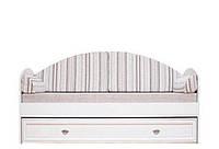 Детская Салерно Новые направляющие 015 Кровать с ящиком LOZ80 (Авеню полосатый)