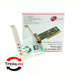Звуковая карта ProLogix SC-8738N-4CN 4ch PCI RETAIL