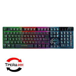 Клавиатура Real-EL Comfort 7090 Backlit USB Black