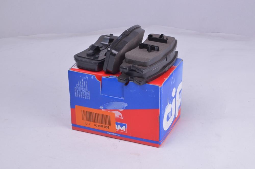 Колодка тормозная MITSUBISHI GRANDIS/PAJERO задн. (производство Cifam) (арт. 822-400-0), rqc1