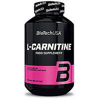 Жиросжигатель L-Carnitine 1000 BioTech USA (60 таблеток)