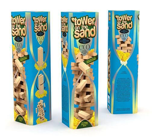 """Настольная игра """"Tower on the sand"""" синяя"""