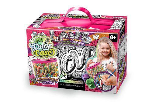 """Набор для раскрашивания косметички (косметичка-раскраска) """"My Color Case"""" COC-01-04"""