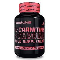 Жиросжигатель L-Carnitine+Chrome BioTech USA (60 капсул)
