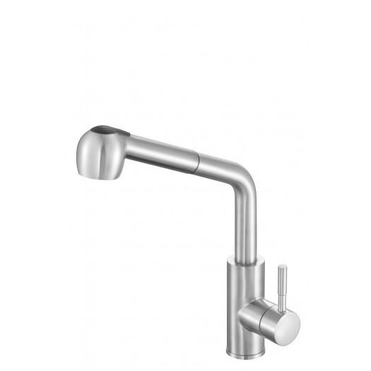 Смеситель для кухонной раковины STEELY 5 с шаровым регулятором- Fala
