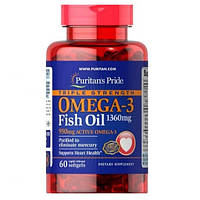 Omega-3 Fish Oil 1360 мг Triple Strength (60 капсул)