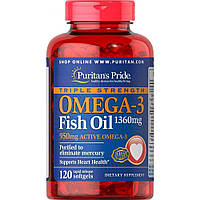Omega-3 Fish Oil 1360 мг One Per Day (120 капсул)