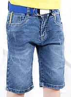 {есть:8 лет} Джинсовые бриджи для мальчиков S&D, Артикул: DT1069