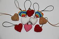 Подарки - сердечки из бисера, к дню Святого Валентина!