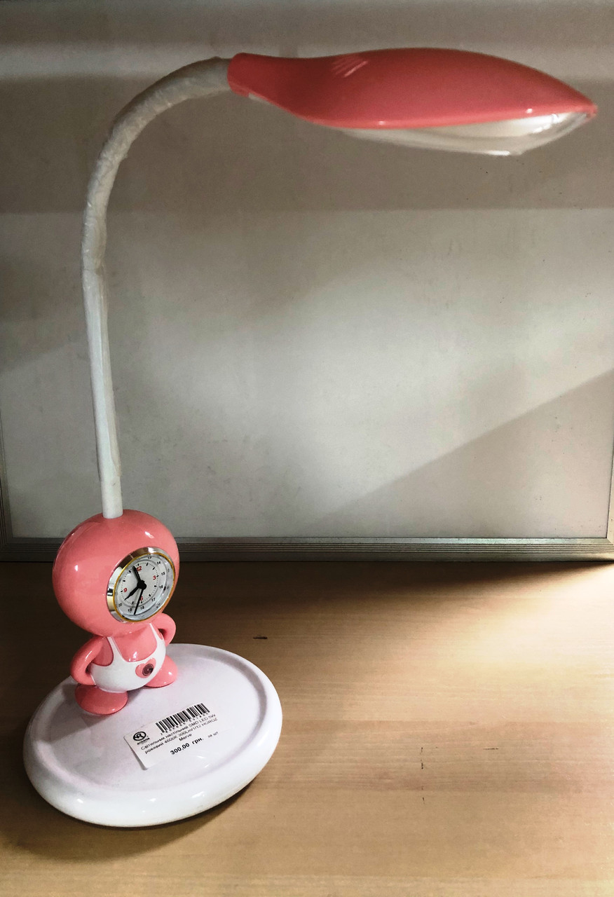 Світильник настільний SMD LED 5W рожевий 4600К 300Lm/1/12 HOROZ Merve