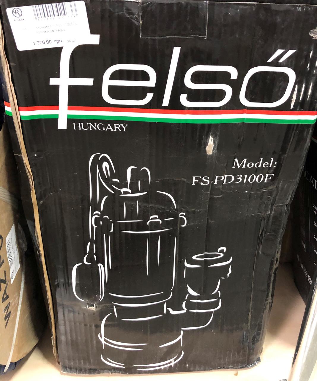 Насос чавунний FS-PD 3100F з поплавком Felso