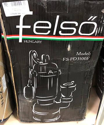 Насос чавунний FS-PD 3100F з поплавком Felso, фото 2
