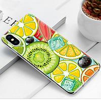 Прозрачный, силиконовый чехол  с качественным принтом для iPhone 5/5s