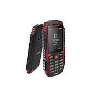 """Телефон Sigma сигма с камерой и хорошей батареей Dt 68 Black-red 2.4""""  2100мА*ч"""