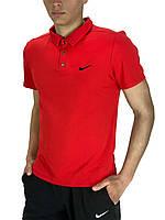 Футболка Polo Nike Реплика S Красный (Polo_Reebok_red 1), фото 1