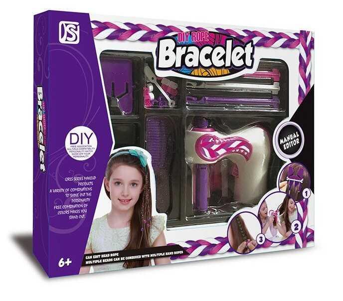 Набор парикмахера 892 (36/2) плетение косичек, в коробке