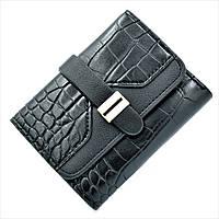 Женский мини кошелек Le-Mon 1266-black Черный, КОД: 1624751