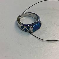 Кольцо с огненным опалом в серебре. Кольцо огненный опал 15,5-16 размер в кредит 0%