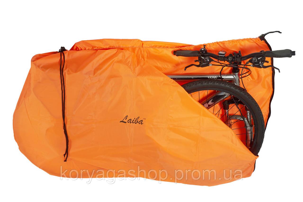 Чехол для велосипеда Laiba тент оранжевый (LB01809)