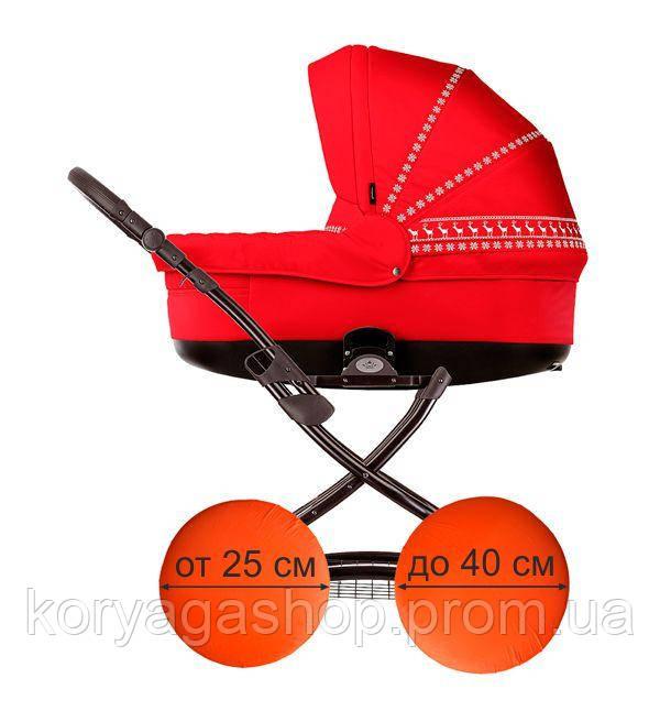 Чехол Laiba для колес детской коляски черный (LB01817)