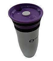 Термокружка EdelHoff EH-5318 400 мл Фиолетовая tdx0000965, КОД: 1618303
