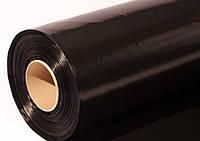Пленка строительная полиэтиленовая черная 1,5*100м 80 мк  22 кг/рул 300м.кв