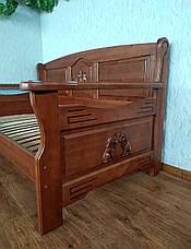 """Прямой кухонный диван со спальным местом из массива дерева """"Орфей Премиум"""" от производителя, фото 2"""
