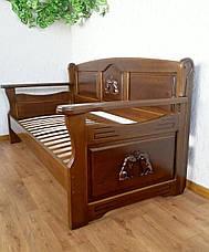 """Прямой кухонный диван из массива дерева """"Орфей Премиум"""" от производителя, фото 3"""