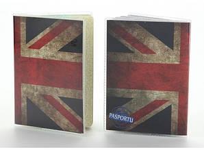 Обкладинка вінілова на паспорт Великобританія