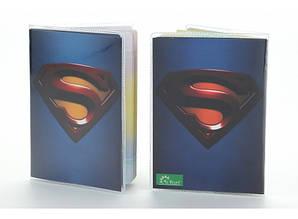 Обложка виниловая на паспорт Супермэн