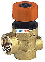 Предохранительный клапан Bianchi 1/2-1/2ВР 2,5 бар с выходом под манометр