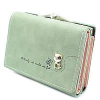 Женский мини кошелек Le-Mon C103-31-1 Зеленый, КОД: 1620531