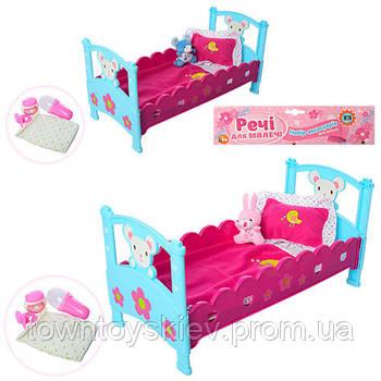 Кроватка M 3836-07 для пупса