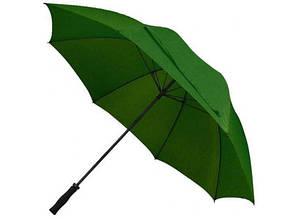 Зонт - трость антишторм 133см Зеленый