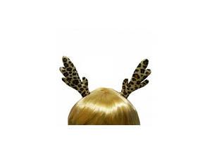 Заколка для волос Ушки Оленёнка Пегие