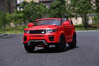 """Детский электромобиль Tilly """"Джип Range Rover"""" музыкальный T-7832 EVA RED с пультом управления"""