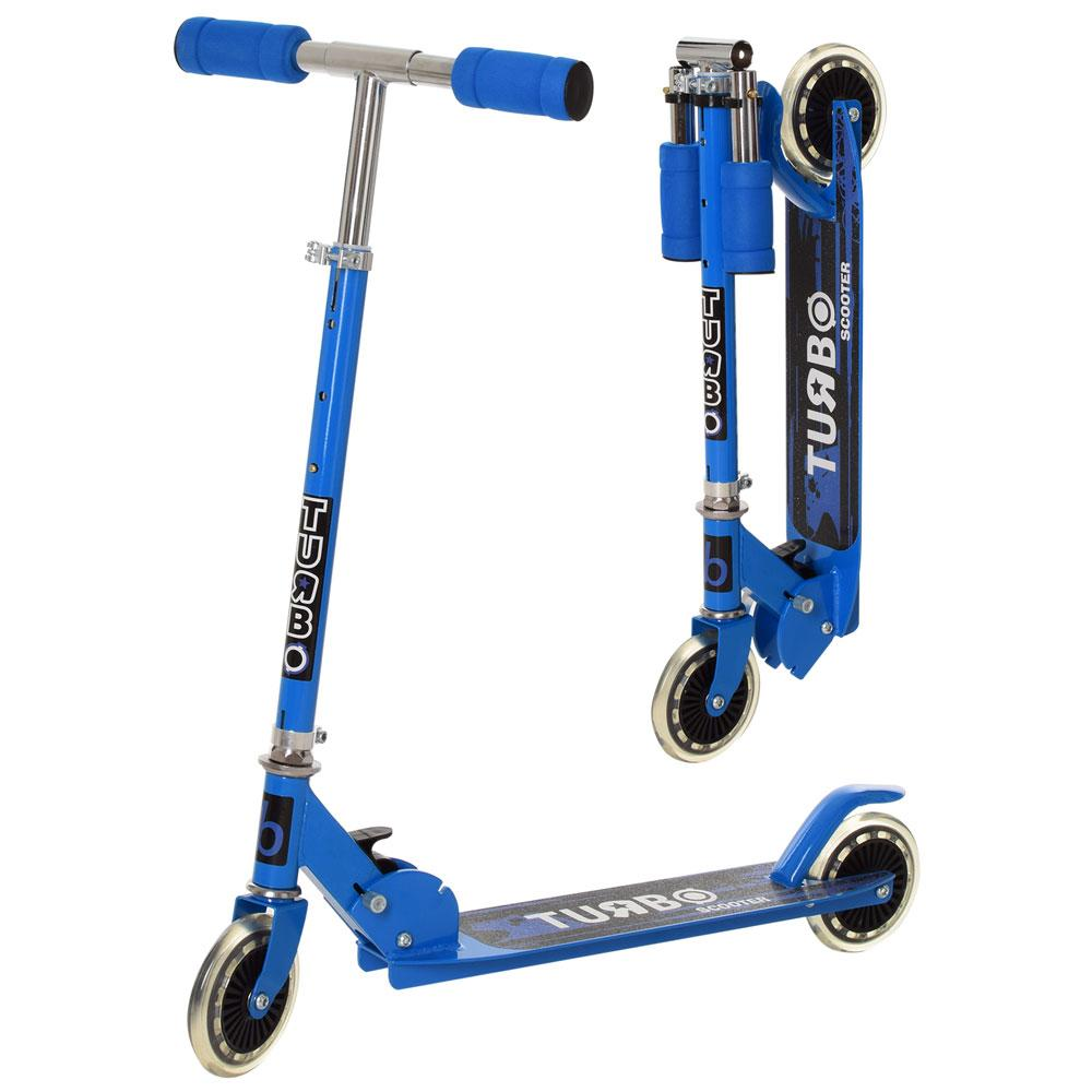 Самокат iTrike SR2-001-BL синий