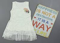 {есть:4 года} Платье для девочек,  Артикул: 2938-белый [4 года], фото 1
