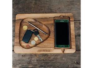 Подставка для смартфона с дерева Плей