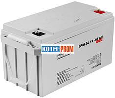 Гелевый аккумулятор LogicPower LPM-GL 12V 65AH