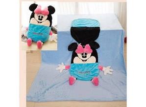 """Одеяло - подушка, игрушка """"Минни"""" большое"""